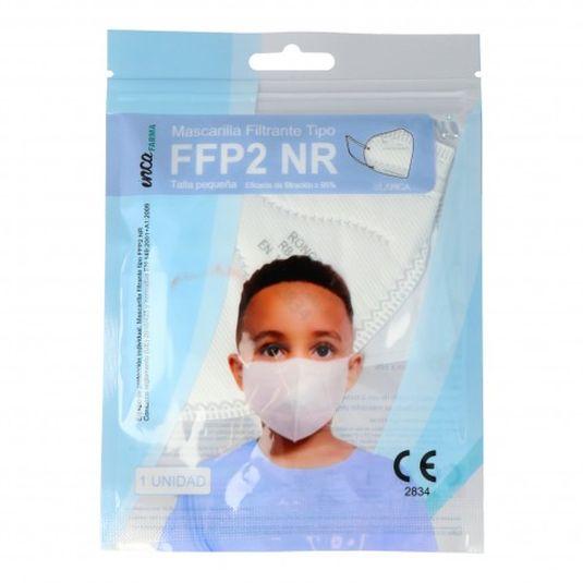 mascarilla fffp2 protectora desechable infantil blister 1 unidad