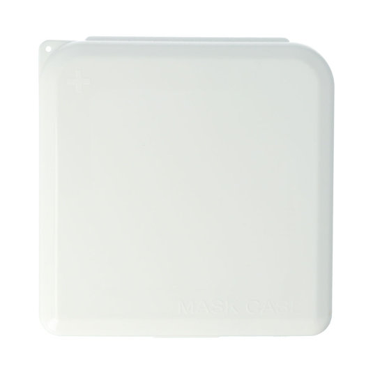 caja porta mascarillas blanca