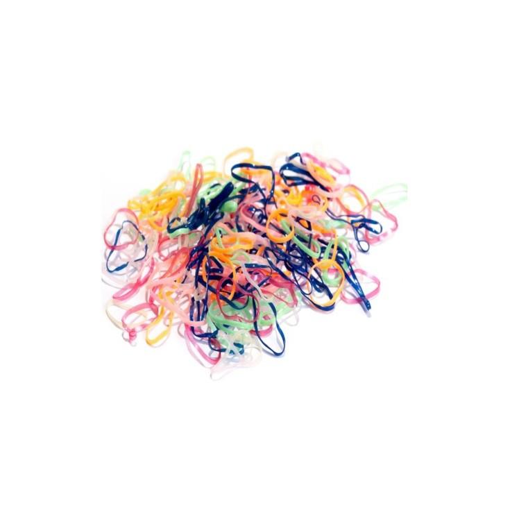 inca bolsita 250 elasticos mini multicolor