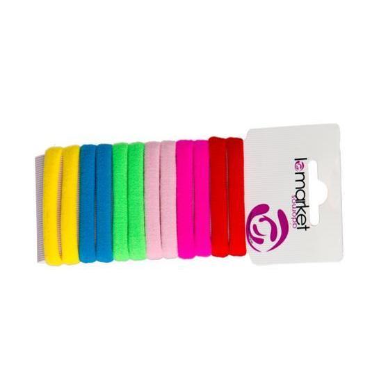 inca elasticos multicolor verano 6 unidades