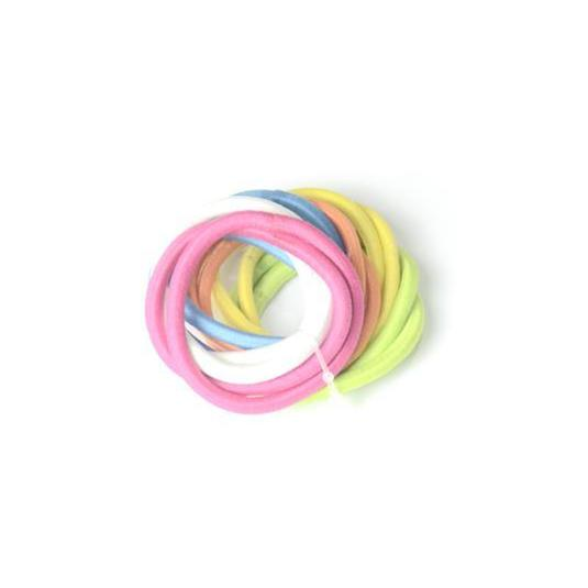 inca gomas para el pelo multicolores fina verano  colores surtidos