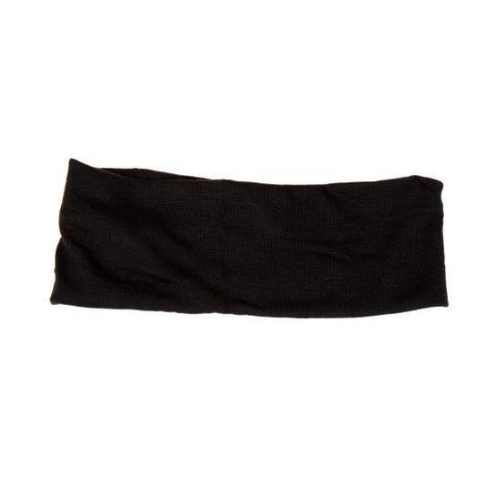 inca cinta ancha negra elastica para el cabello 1 unidad