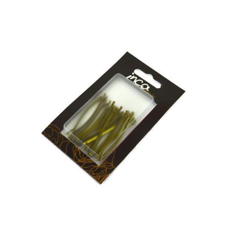 inca set horquillas rubio 5 cm para el cabello
