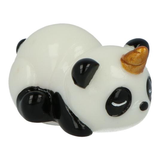 brillo de labios infantil panda-cornio 3d