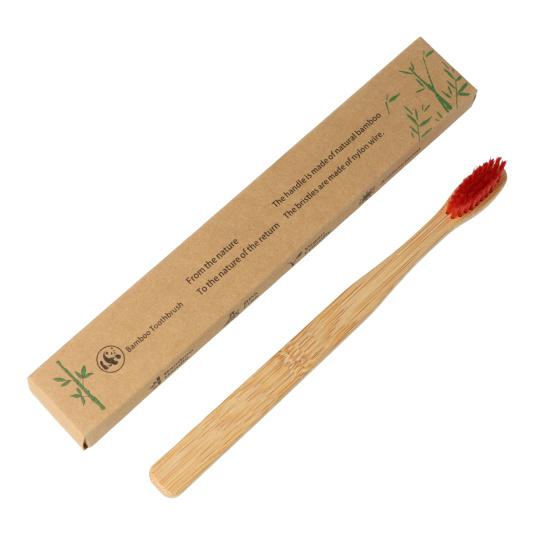 pack 4 cepillos de dientes de bambu