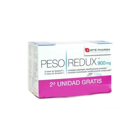 forte pharma pesoredux comprimidos 900mg duplo 2x56 capsulas