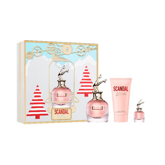jean paul gaultier scandal eau de parfum cofre regalo 3 piezas