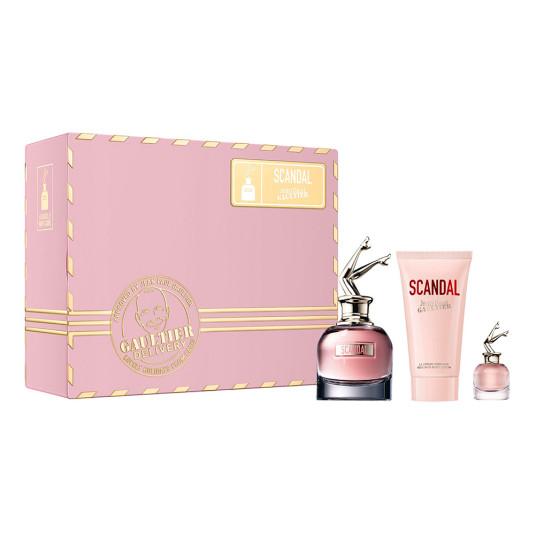 jean paul gaultier scandal eau de parfum 50ml cofre 3 piezas