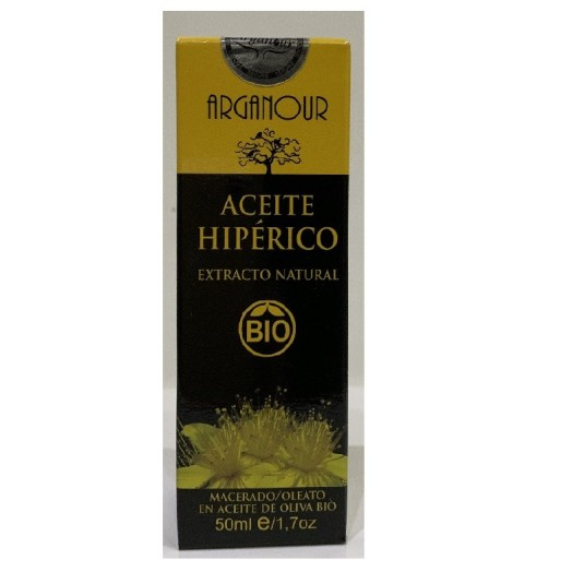 arganour aceite hiperico bio 50ml