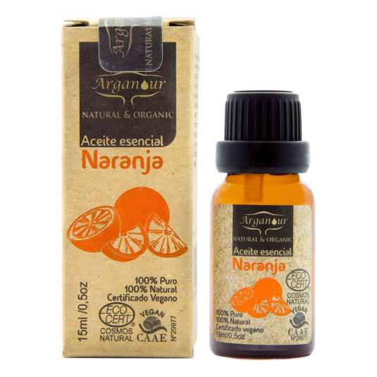 arganour aceite esencial de naranja 15ml
