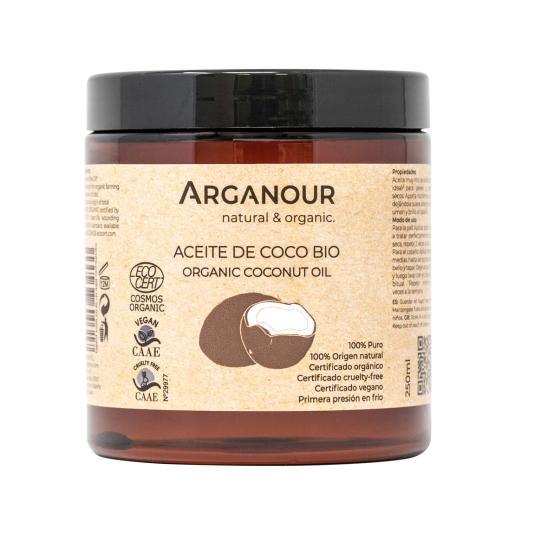 arganour aceite de coco bio 250ml