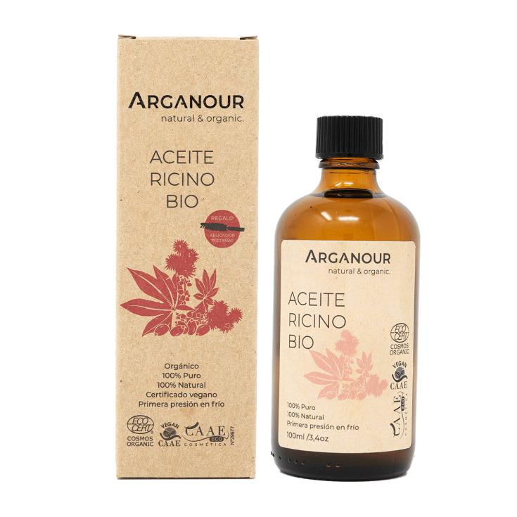 arganour aceite de ricino bio 100ml