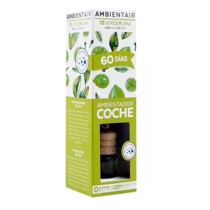 ambientair ambientador coche te verde lima lagrima 6ml
