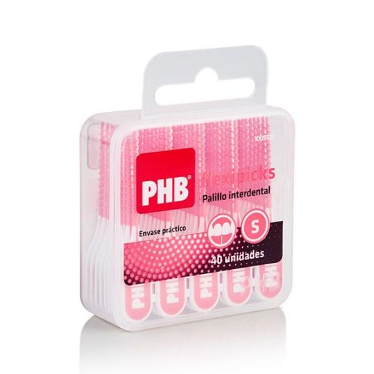 phb flexipicks palillo interdental recto 40 unidades