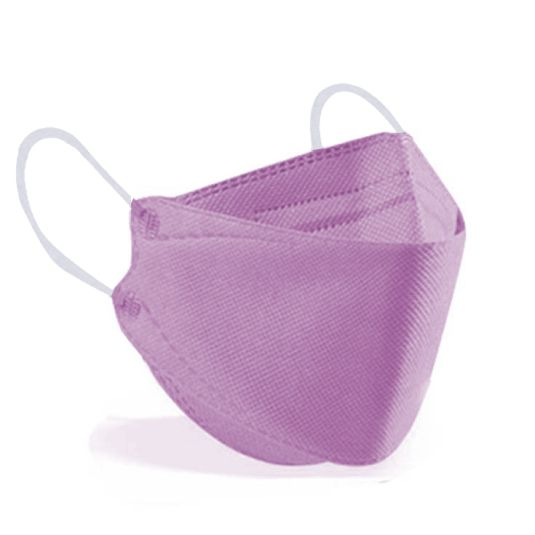 mascarilla ffp2 forma pez rosa palo caja 10 unidades