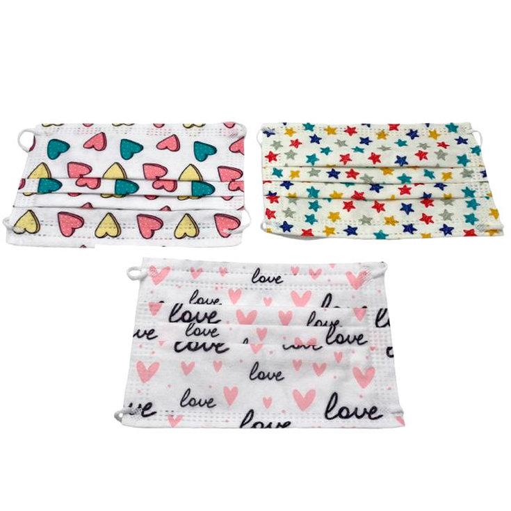 mascarillas higienicas infantiles 02 diseños caja 30 unidades