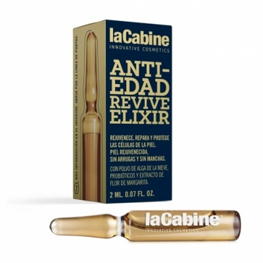 lacabine ampollas faciales efecto anti-edad revive elixir