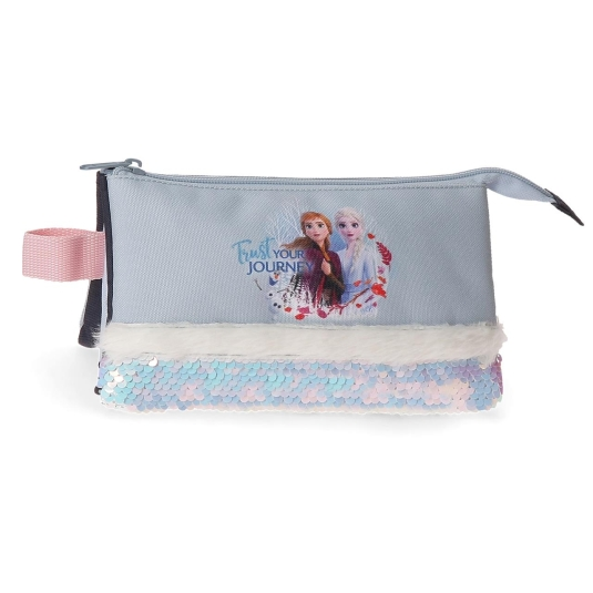estuche frozen ii trust your journey 3 compartimentos