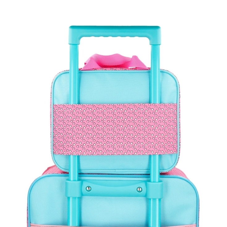 neceser infantil minnie pink vibes adaptable a trolley