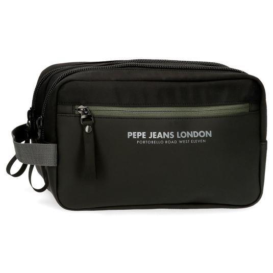 pepe jeans sail neceser doble compartimento 16x26x12cm