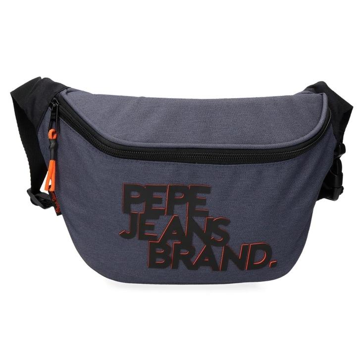 pepe jeans troy riñonera 13x35x5cm