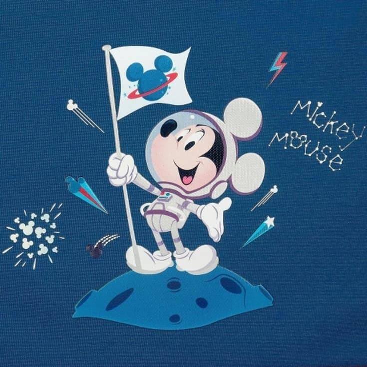 mickey on the moon mochila infantil 25ml