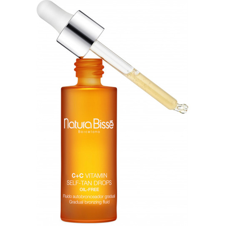 natura bisse c+c vitamin self tan drops autobronceador 30ml