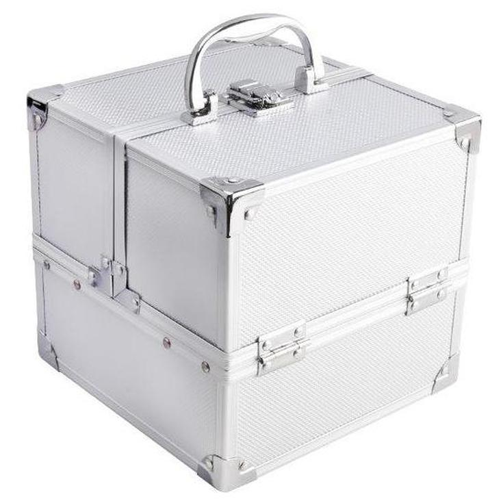 mya cosmetics maletin de maquillaje metalico cube