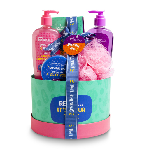 IDC SET DE BAÑO SMOOTHIE TIME BOX 5 PIEZAS