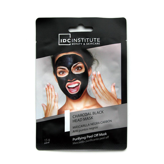 idc institute charcoal black mascarillanegra purificante puntos negros 15g