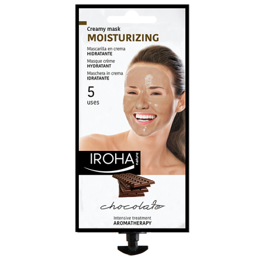 IROHA MASCARILLA FACIAL PEEL-OFF CHOCOLATE