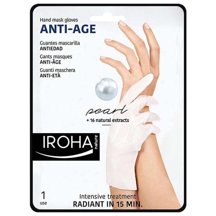 iroha guantes mascarilla para manos anti-edad