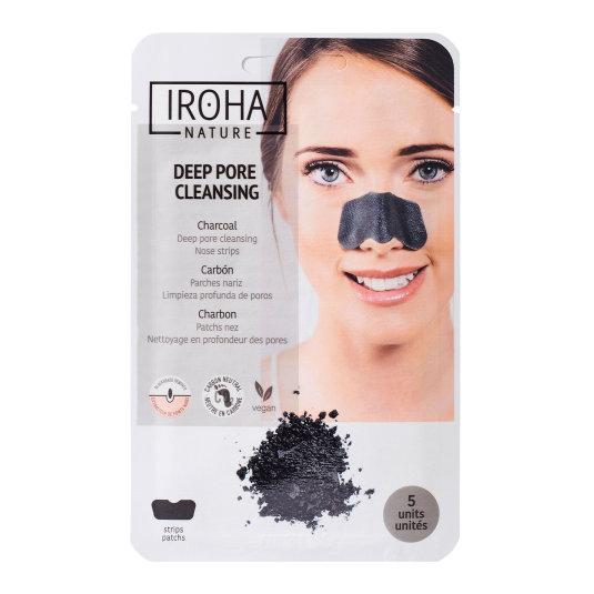 iroha tiras limpieza detox puntos negros nariz