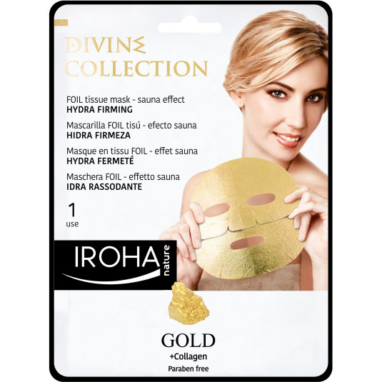 IROHA MASCARILLA TISSU GOLD DIVINE COLLECTION 25ML