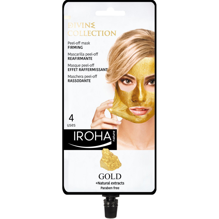 IROHA MASCARILLA FACIAL PEEL-OFF GOLD DIVINE COLLECTION
