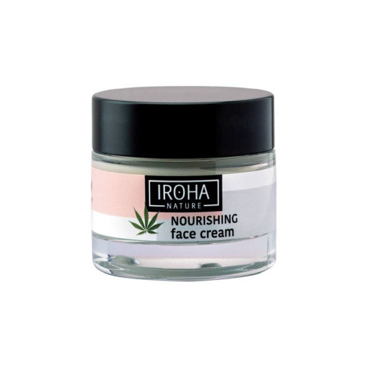 iroha nature hemp crema facial nutritiva 50ml