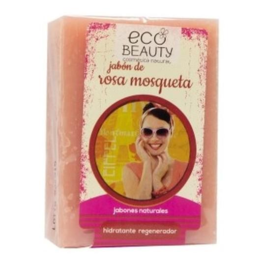 ecobeauty pastilla jabon rosa mosqueta 100g