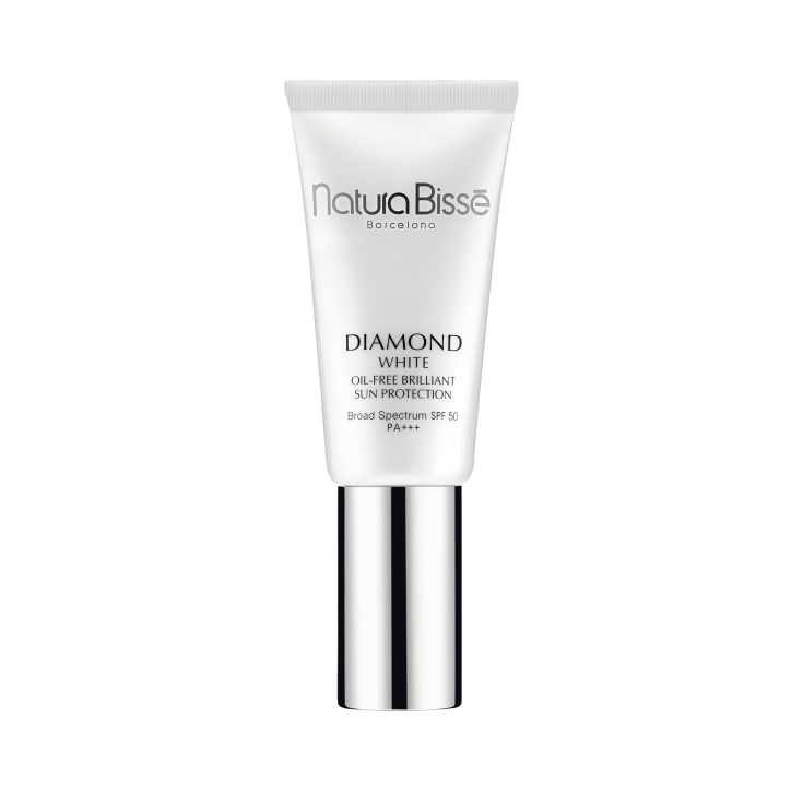 natura bisse diamond white spf 50 pa+++ oil-free brilliant sun protection 30ml
