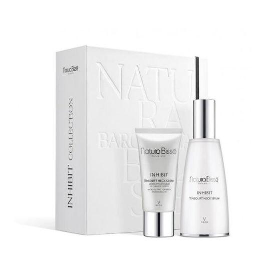 natura bisse inhibit collection neck serum set 2 piezas