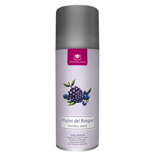 cristalinas ambientador natural spray frutas del bosque 200ml