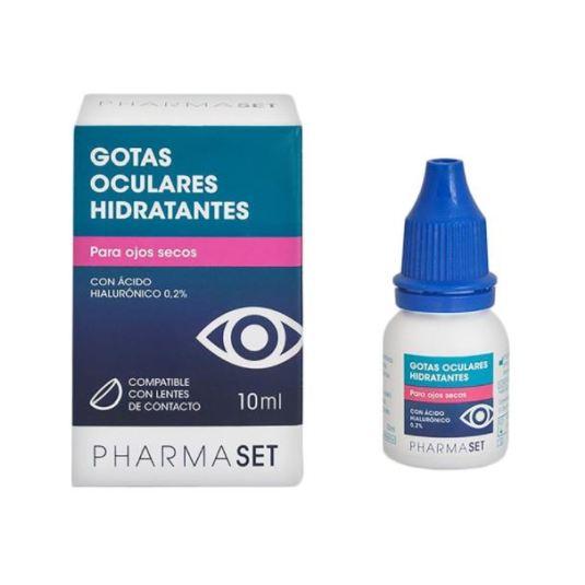 pharmaset gotas oculares hidratantes ojos secos 10ml
