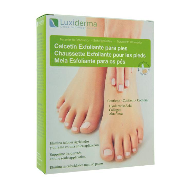 luxiderma calcetin exfoliante para pies