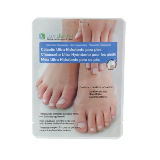luxiderma calcetin hidratante pies 2 unidades