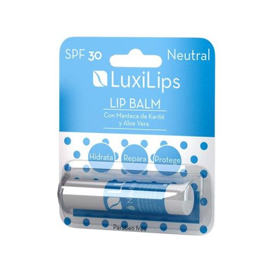 luxilips neutral balsamo labial spf30