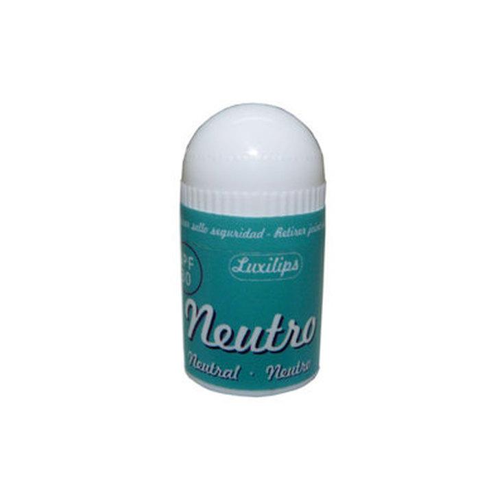 luxilips neutral balsamo labial spf30 mini