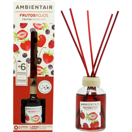 ambientair mikado frutos rojos 50ml