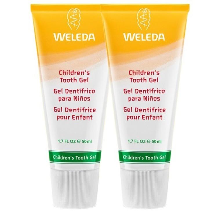 weleda gel dentífrico para niños duplo