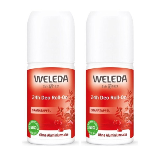 weleda desodorante roll-on granada duplo