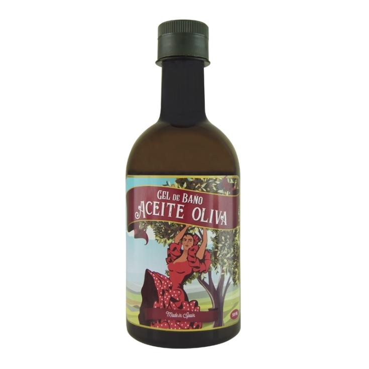 mi rebotica gel de baño aceite de oliva 250ml