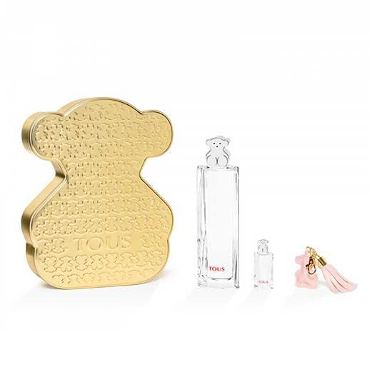 tous mini kaos bear eau de toilette cofre-lata 3 piezas